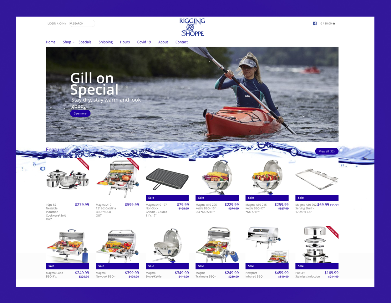 Rigging Shoppe Home Page